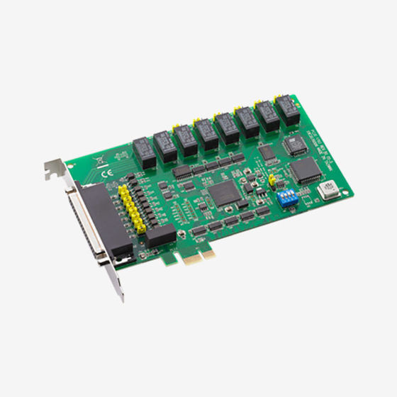 PCIE-1760, 8-Ch Relay and 8-Ch Isolated Digital
